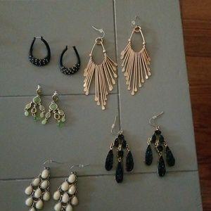 Lot of earrings 5 pair